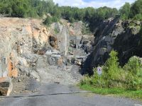 Granite quarry in Sweden
