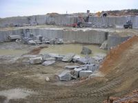 Granite quarry in Ukraine